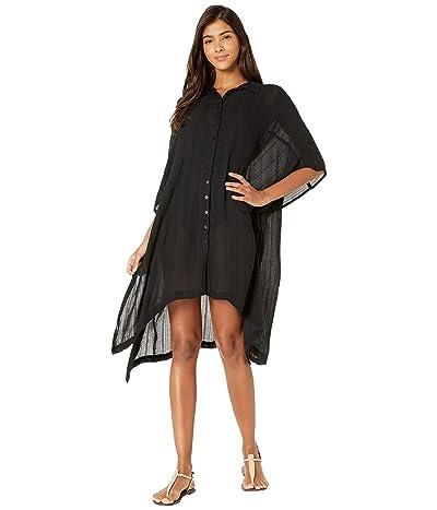 L*Space Anita Cover-Up Dress (Black) Women
