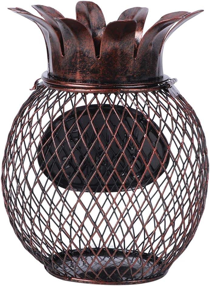 BOLORAMO Almacenamiento de Corcho de Vino, contenedor de tapón de Botella de Vino Duradero de Color Retro, práctico para Decorar su Sala de Estar y Cocina