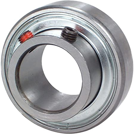 12.7 mm Narrow Inner Ring 40 13 mm Inner Ring Eccentric Locking Collar 19.05 mm Outer Ring 1.575 Single Lip Seal OD Non-Relubricable 1.575 FHR200 Series 0.5 Cylindrical Outer Ring 40 mm ID Peer Bearing FHR201-8 Insert Bearing 1//2 Bore