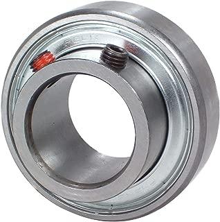 Peer Bearing FHSR204-12 Insert Bearing, FHSR200 Series, Narrow Inner Ring, Cylindrical Outer Ring, Non-Relubricable, Set Screw Locking Collar, Single Lip Seal, 3/4