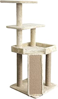 Amazon Basics Platform Cat Tree - Medium, Beige