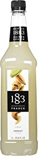 Maison Routin 1883 Almond Syrup, Pet Bottle 1000 Milliliter