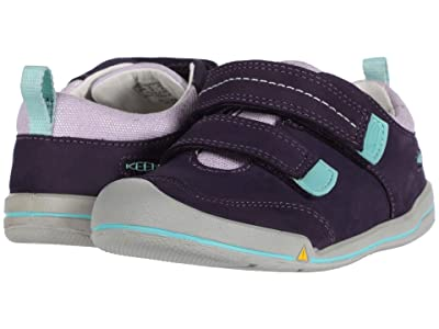 Keen Kids Sprout Double Strap (Toddler) (Purple Plumeria/Sweet Lavender) Girl