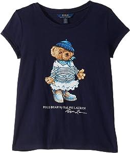 e1943909e French Navy. 0. Polo Ralph Lauren Kids. Marseilles Bear Cotton Tee (Little  Kids/Big ...