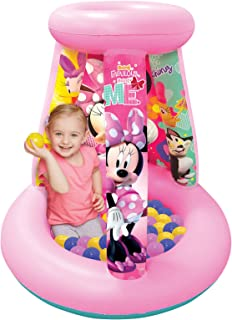 Minnie Mouse Happy Helpers Ball Pit, 1 Inflatable & 15 Sof-Flex Balls, Pink, 28
