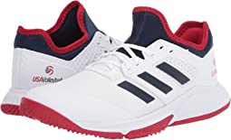 Footwear White/Collegiate Navy/Power Red