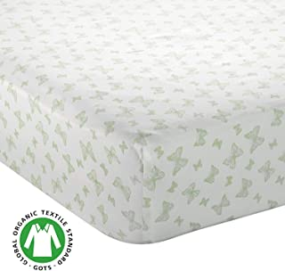 Bayleaf Organics - Fitted Crib Sheet 100% Organic Sateen Cotton GOTS-Certified, Super Soft | Standard Sized Baby - Toddler Mattress Cover | Boys and Girls