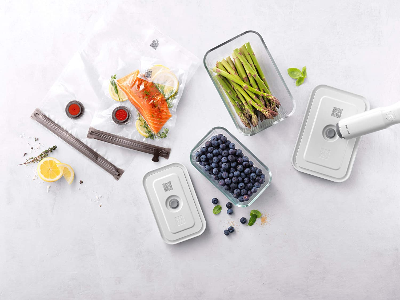 Vacuum starter set, 7-pcs | Borosilicate glass Fresh & Save