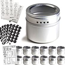 Best magnetic seasoning containers Reviews