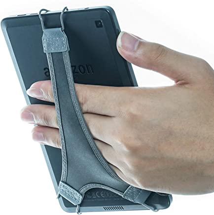 """WANPOOL Hand Strap Holder Finger Grip for Kindle E-Readers - Kindle e-Reader 6"""" / Kindle Paperwhite/Kindle Voyage/Kindle Oasis/Nook GlowLight Plus (Gray)"""