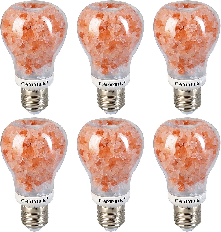 CAMMILE LED A60 Salt Light Bulb Bulbs Himala 7W Latest item Indoor San Francisco Mall E26