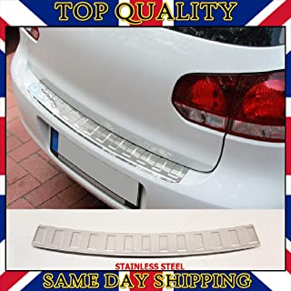 PICFA Stainless Steel Rear Bumper Protector Anti Scratch Guard for Volkswagen Vw Transporter Multivan Caravelle California 16-19
