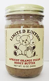 Limited Edition Apricot Orange Pecan Honey Butter - 12 Ounce