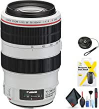 Canon EF 70-300mm f/4-5.6L is USM Lens for Canon EF Mount + Accessories (International Model)