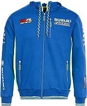 Felpa con Cappuccio Paddock Pitline Abbigliamento da Gara per Moto Suzuk/í Ecstar WSBK MotoGP XL