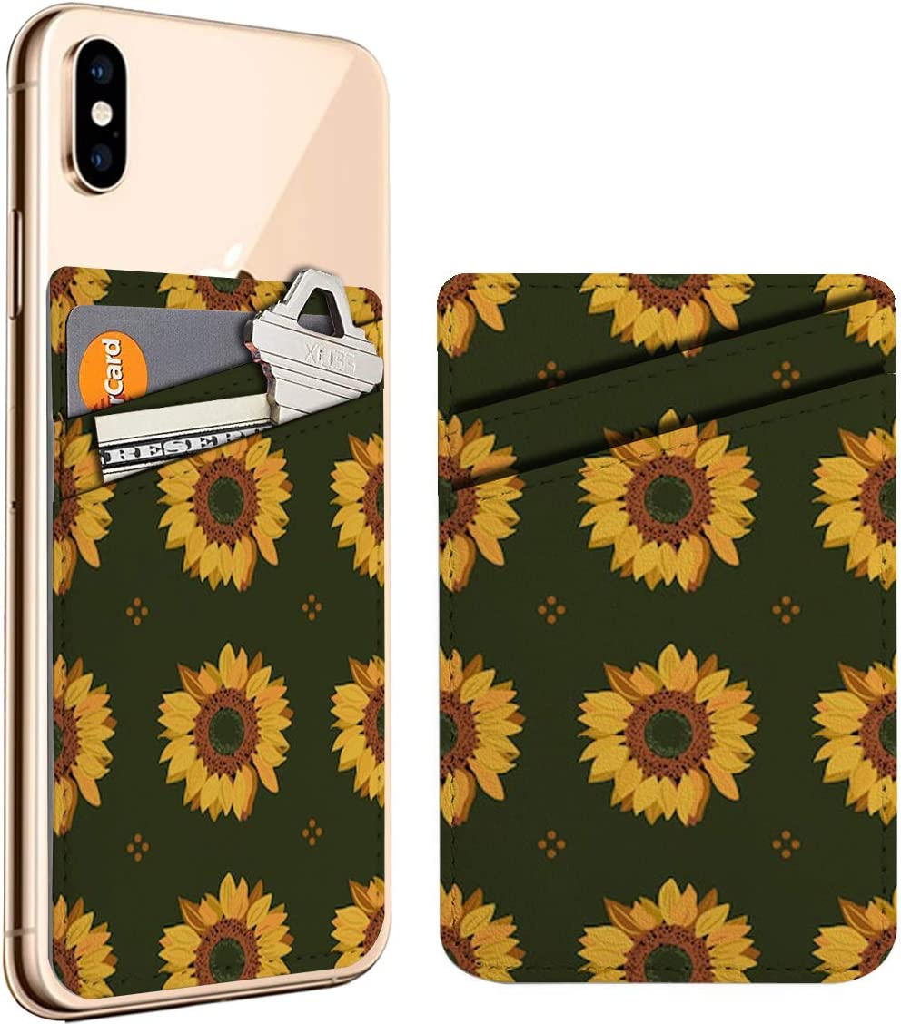 Floral Geometrical Spring new work one after another Sunflowers Cell Phone ID Stick Credit Manufacturer direct delivery On Ca