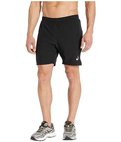 ASICS Run Silver 7 2-in-1 Shorts (Performance Black) Men
