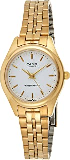 Casio Women's White Dial Stainless Steel Analog Watch - LTP-1129N-7ARDF