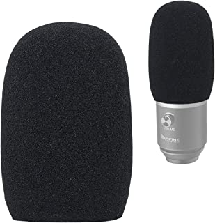 YOUSHARES Foam Microphone Windscreen - Wind Cover Mic Pop Filter Compatible with Fifine USB Microphone (K670) for Recordin...