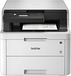 Brother HL-L3290CDW Compact Digital Color Printer Providing Laser Printer Quality Results with Convenient Flatbed Copy & Scan, Wireless Printing and Duplex Printing, Amazon Dash Replenishment Ready