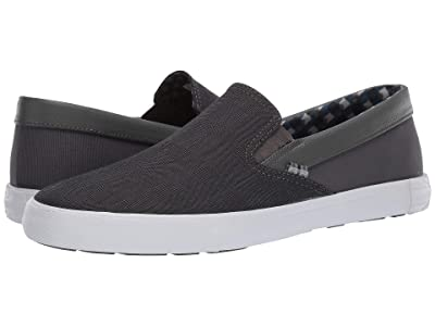 Ben Sherman Pete Slip-On (Dark Grey Cotton) Men