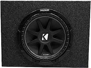 """Kicker Comp 12"""" Loaded Truck Subwoofer Box Enclosure (10C12-4)"""
