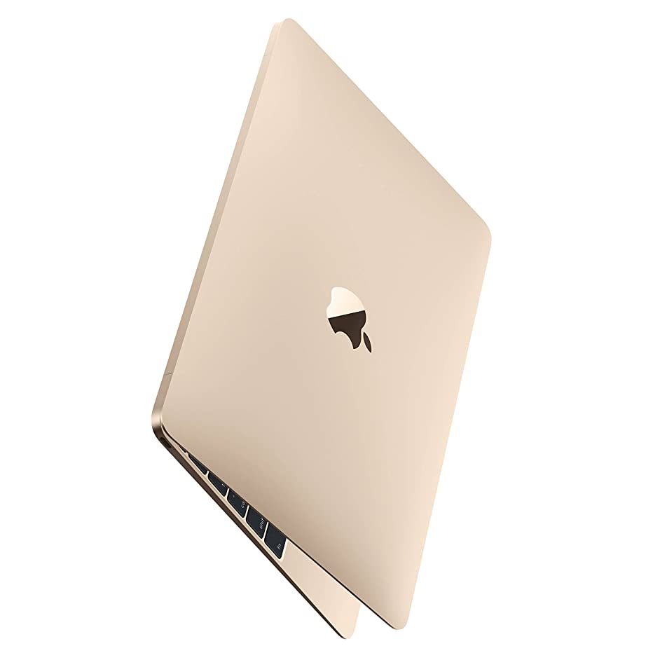 Apple Gold Macbook - MK4N2LL/A Core M-5Y51 1.2GHz (up to 2.6GHz), 8GB RAM,512GB SSD, 12in Retina IPS, Laptop (Renewed)
