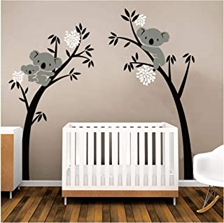 Sayala Koala Arbre Stickers Muraux - Mon-Baby-Dad Koala Branches Stickers/Autocollant Adhésif Mural Pour Chambre Enfants B...
