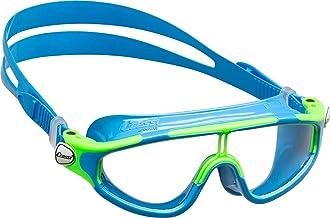 Cressi Premium zwembril kinderen 2/15 jaar 100% uv-bescherming + tas - gemaakt in Italië