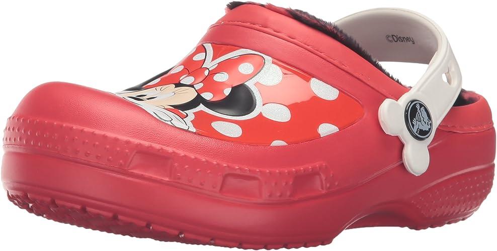 Crocs CC Minnie Lined Clog (Toddler Peu Enfant)