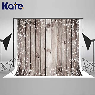 Kate 7×5ft Wood Photography Backdrop Silver Diamond Wooden Background Seamless Photo Studio Props for Photography Cotton Cloth