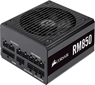 Corsair RM Series, RM850, 850W Fully Modular, 80+ Gold Certified, Power Supply Unit - Black