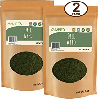 Yamees Dill Weed – Dill Weed Spice – Dried Dill – Bulk Spices - 2 Pack of 6 Ounce Each