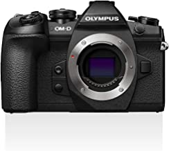Olympus OM-D E-M1 Mark II, Micro Four Thirds System Camera, 16 Megapixels, 5-Axis Image Stabilizer, Electronic Viewfinder,...