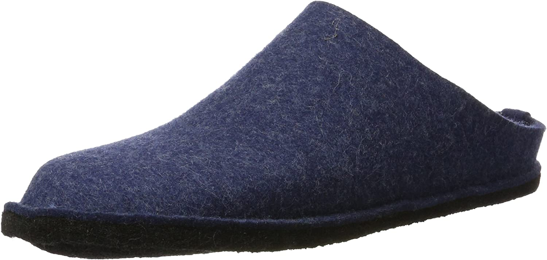Haflinger 311010 Hausschuhe, Filztoffel Flair Soft, jeans