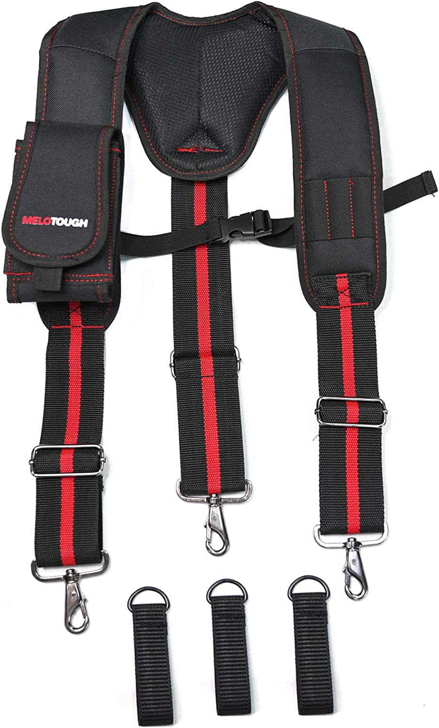 Heavy Duty Work Max 89% OFF Suspenders Washington Mall Tool with H 3 Belt Trigger