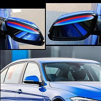 Sopracciglio specchio laterale Accessori auto Protezione anti-pioggia per parasole 2 pezzi