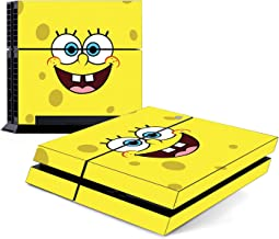 Decorative Video Game Skin Decal Cover Sticker for Sony PlayStation 4 Console PS4 - Spongebob Squarepants