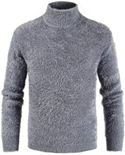 IFOUNDYOU Men's Autumn Winter Casual Long Sleeve Pullover Knitted Sweater Top Jumper Sweatshirt