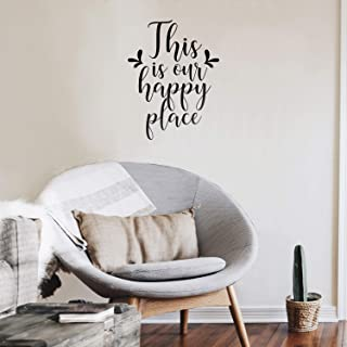 Vinyl Wall Art Decal - This is Our Happy Place - 27