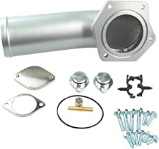 Intake Elbow Powerstroke Diesel Culer Kit Red Compatible w/Ford 2008-10 6.4L Quick Delivery