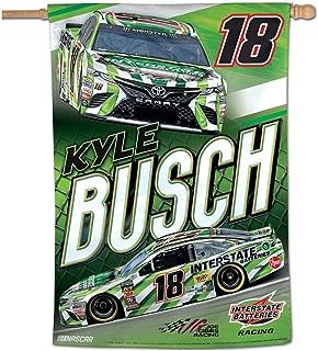 Wincraft Kyle Busch Flag #19 House Banner Interstate Batteries Race Car 2019