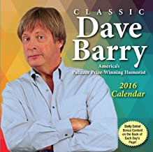 Classic Dave Barry 2016 Day-to-Day Calendar