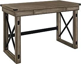 Ameriwood Home Wildwood Wood Veneer Desk, Rustic Gray