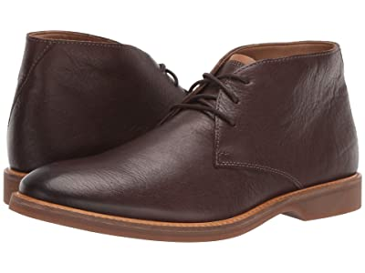 Clarks Atticus Limit (Dark Brown Leather) Men