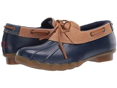 Sperry Saltwater 1-Eye Duck Boot (Tan/Navy) Women