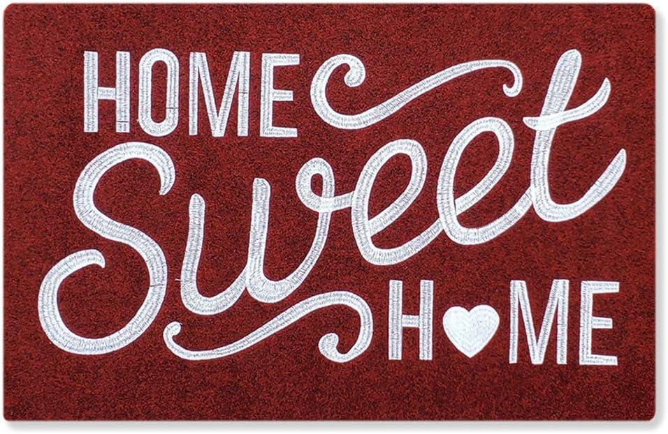 AAZZKANG Home Sweet Home Doormat Outdoor Indoor Welcome Door Mat Large 24