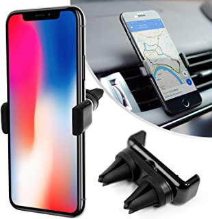 Desire2 Car Cell Phone Mount, View Car Air Vent Clip Holder, Universal Stand Hands Free Cradle Compatible with iPhone 11, ...