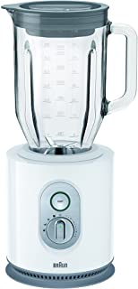 Braun 1000W Jug Blender, White, 1.6 Liters, JB 5160