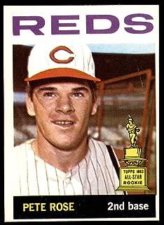 Baseball MLB 1964 Topps #125 Pete Rose UER Ex-Mint Reds